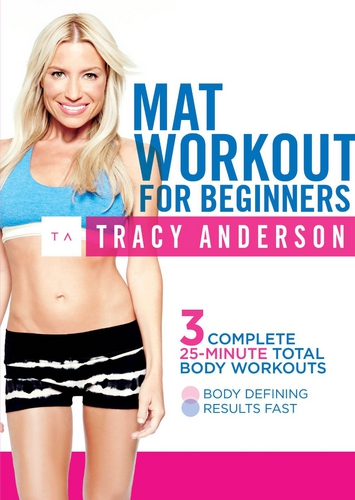Tracy Anderson Mat Workout For Beginners 2014 фитнес